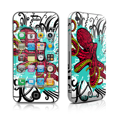 iPhone 4 Skin - Octopus