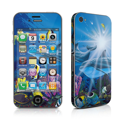 iPhone 4 Skin - Ocean Friends