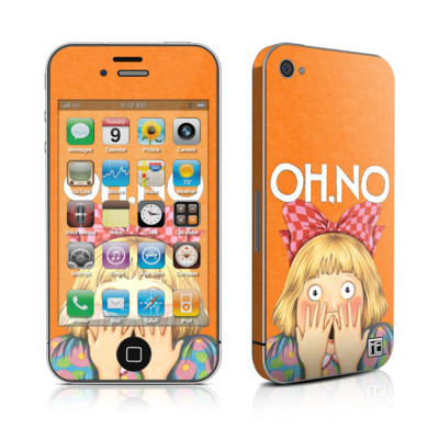iPhone 4 Skin - Oh No