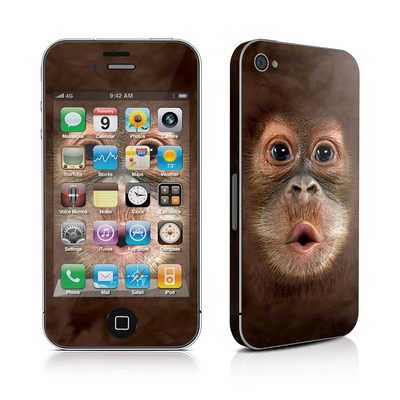 iPhone 4 Skin - Orangutan