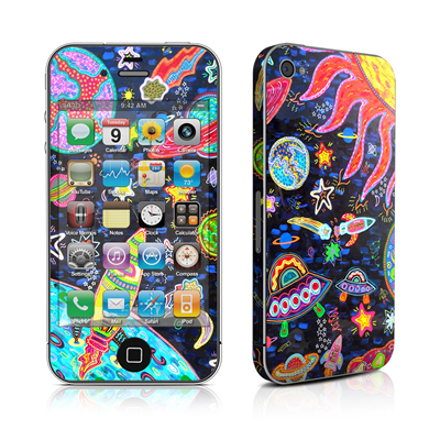iPhone 4 Skin - Out to Space