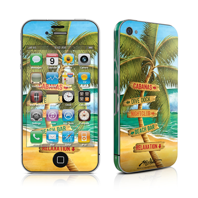iPhone 4 Skin - Palm Signs