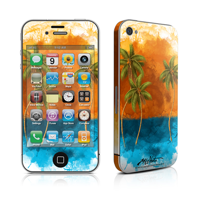iPhone 4 Skin - Palm Trio