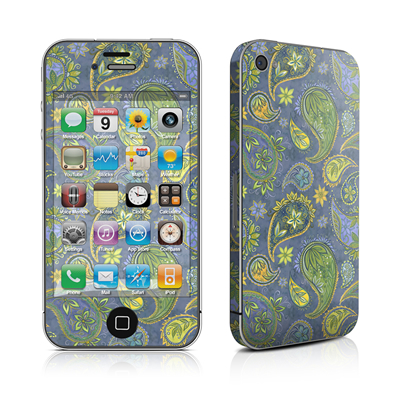 iPhone 4 Skin - Pallavi Paisley