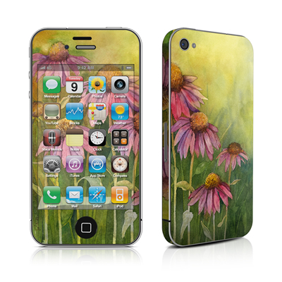 iPhone 4 Skin - Prairie Coneflower