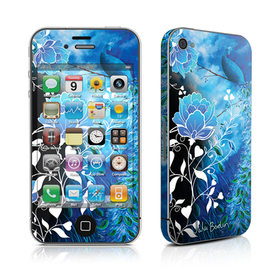 iPhone 4 Skin - Peacock Sky