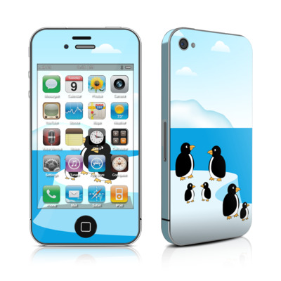 iPhone 4 Skin - Penguins