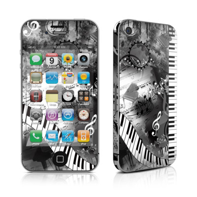 iPhone 4 Skin - Piano Pizazz