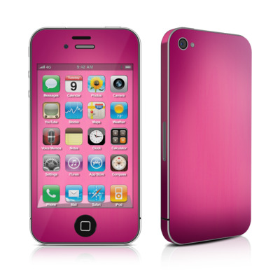 iPhone 4 Skin - Pink Burst