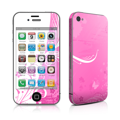 iPhone 4 Skin - Pink Crush