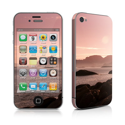 iPhone 4 Skin - Pink Sea