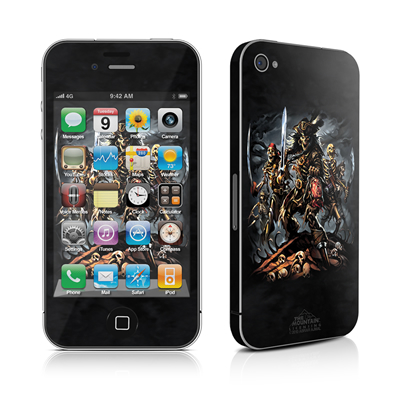 iPhone 4 Skin - Pirates Curse