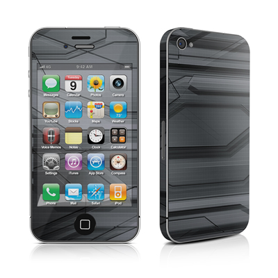 iPhone 4 Skin - Plated