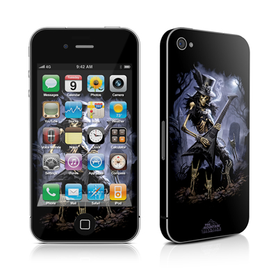 iPhone 4 Skin - Play Dead