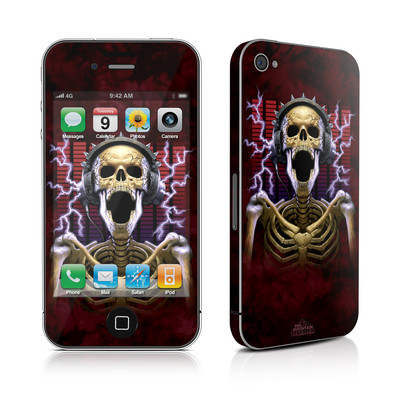 iPhone 4 Skin - Play Loud