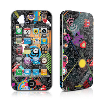 iPhone 4 Skin - Play Time