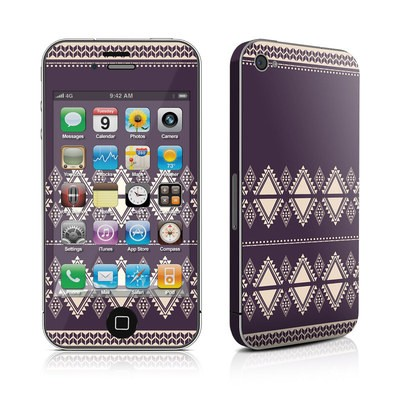 iPhone 4 Skin - Plum Cozy