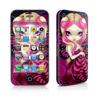 iPhone 4 Skin - Pink Lightning