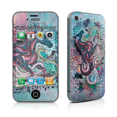 iPhone 4 Skin - Poetry in Motion