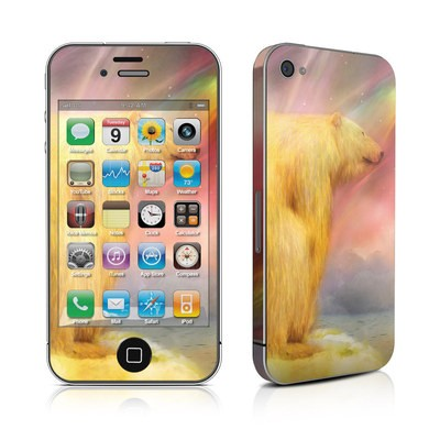 iPhone 4 Skin - Polar Bear