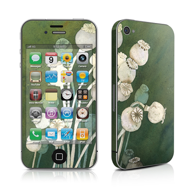 iPhone 4 Skin - Poppy Pods