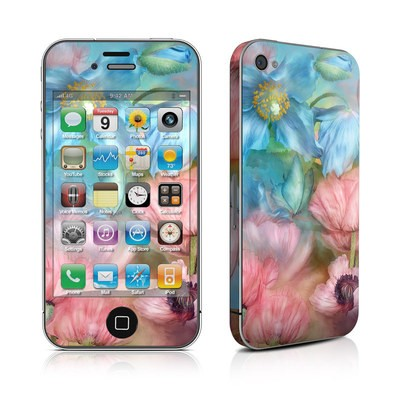 iPhone 4 Skin - Poppy Garden