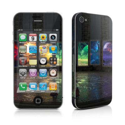 iPhone 4 Skin - Portals