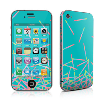 iPhone 4 Skin - Pop Rocks Wands