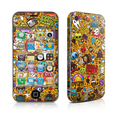 iPhone 4 Skin - Psychedelic