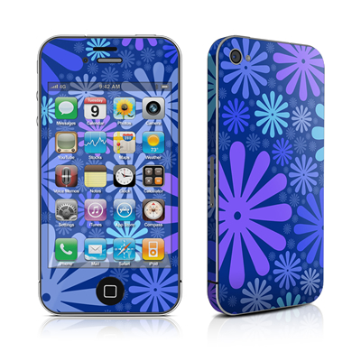 iPhone 4 Skin - Indigo Punch