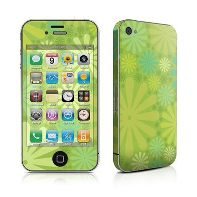 iPhone 4 Skin - Lime Punch
