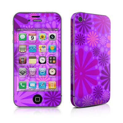 iPhone 4 Skin - Purple Punch