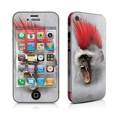 iPhone 4 Skin - Punky
