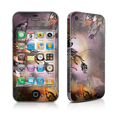 iPhone 4 Skin - Purple Rain