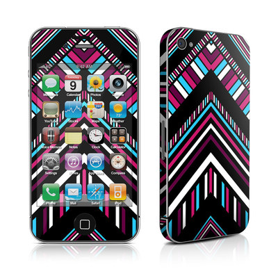 iPhone 4 Skin - Push