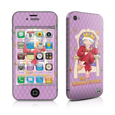 iPhone 4 Skin - Queen Mother