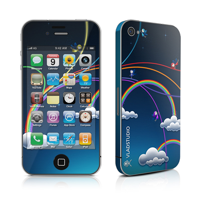 iPhone 4 Skin - Rainbows