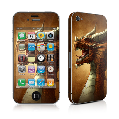 iPhone 4 Skin - Red Dragon