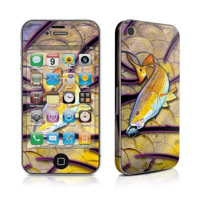 iPhone 4 Skin - Red Fish