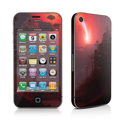 iPhone 4 Skin - Red Harbinger