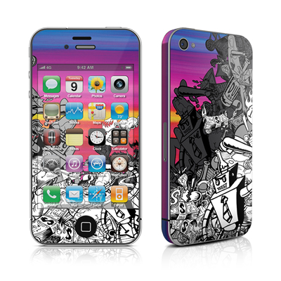 iPhone 4 Skin - Robo Fight
