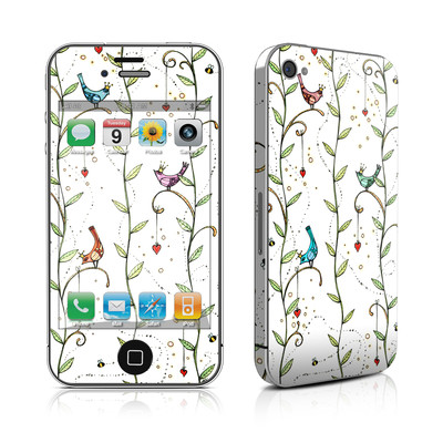 iPhone 4 Skin - Royal Birds