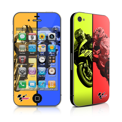 iPhone 4 Skin - Race Panels