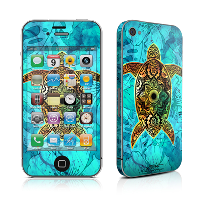 iPhone 4 Skin - Sacred Honu