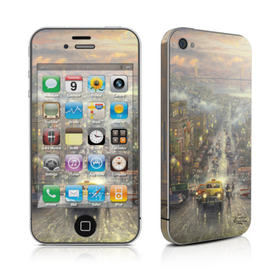 iPhone 4 Skin - Heart of San Francisco