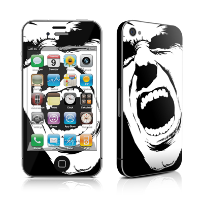 iPhone 4 Skin - Scream