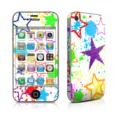 iPhone 4 Skin - Scribbles