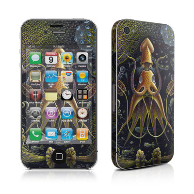 iPhone 4 Skin - Sea Flowers