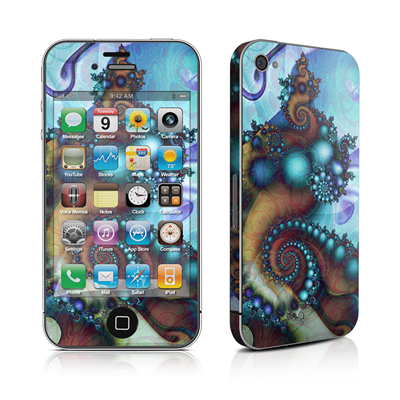 iPhone 4 Skin - Sea Jewel
