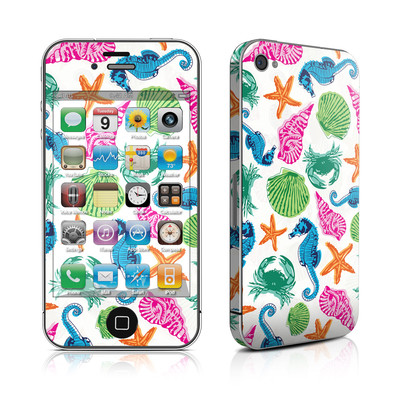 iPhone 4 Skin - Sea Life